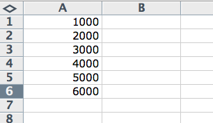 Average in Excel
